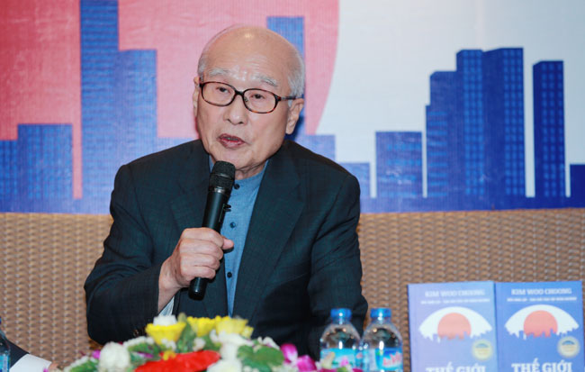 Daewoo founder seeks to inspire youth