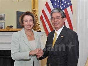 US Congresswoman meets Ambassador ahead of Viet Nam visit