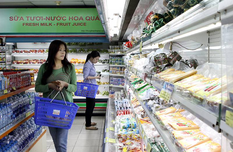 Data reveal CPI increases in Ha Noi and HCM City
