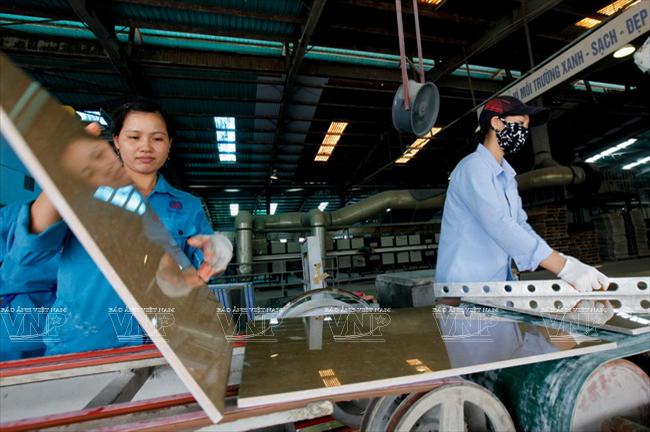 Viglacera expands granite tile factory in Thai Binh