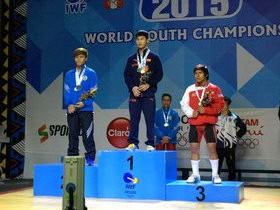 VN weightlifter wins silver at junior worlds