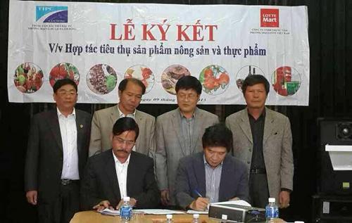 Lotte Mart inks deal to buy Da Lat farm produce