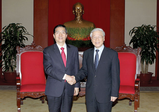 Party General Secretary welcomes Chinese Minister of Public Security