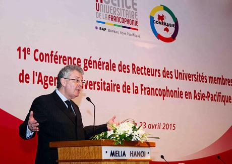 Francophone rectors chart 4-year course