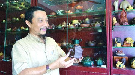 Zisha teapots carry a Vietnamese soul too