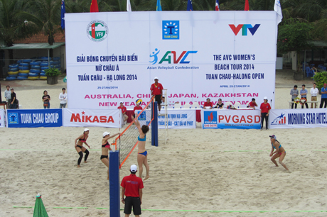 18 teams to compete in AVC Womens beach tour