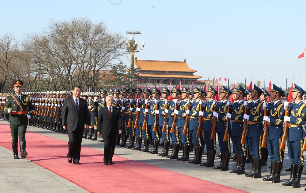 VN China seek major uplift in ties