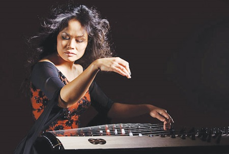 Heritage reminder: Traditional musician Vo Van Anh plays zither and traditional percussion on the album.