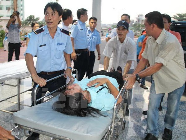 Factory workers discharged from hospital after gas leak at industrial park