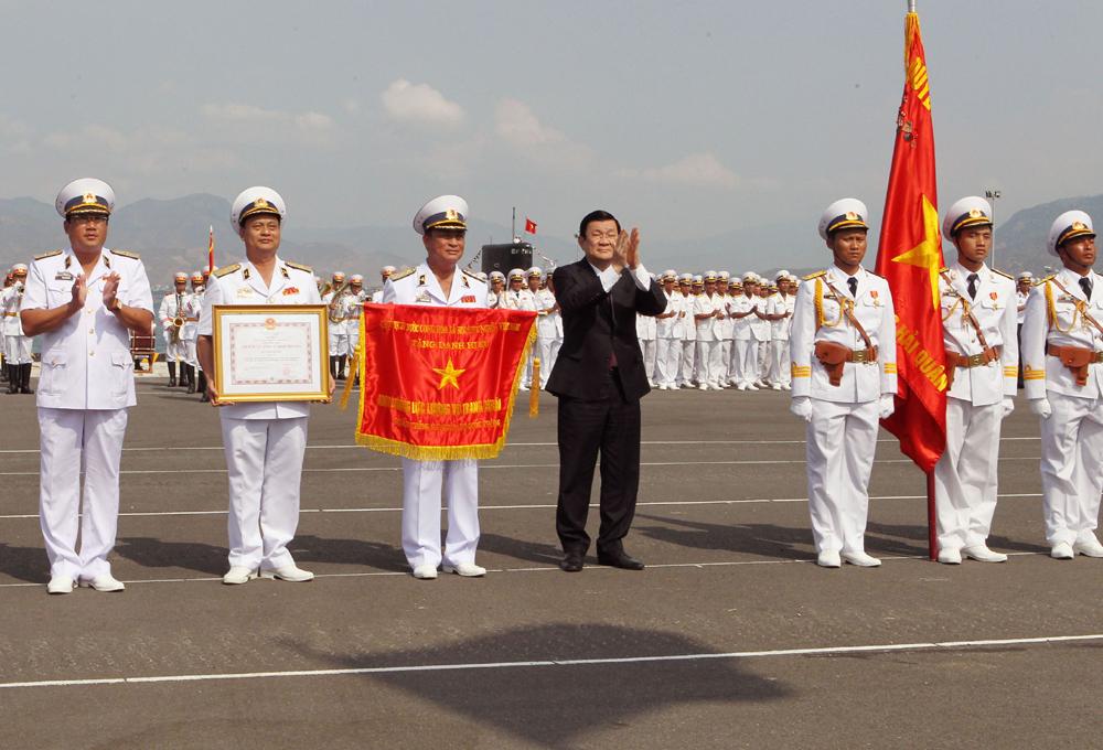 President hails Navy for sea vigilance