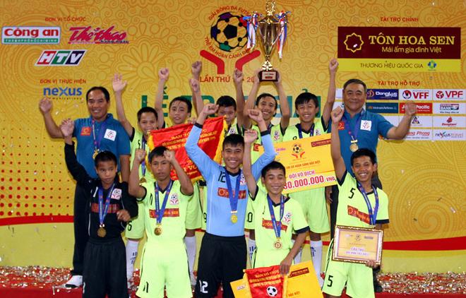 Gia Lai win futsal tournament for disadvantaged children