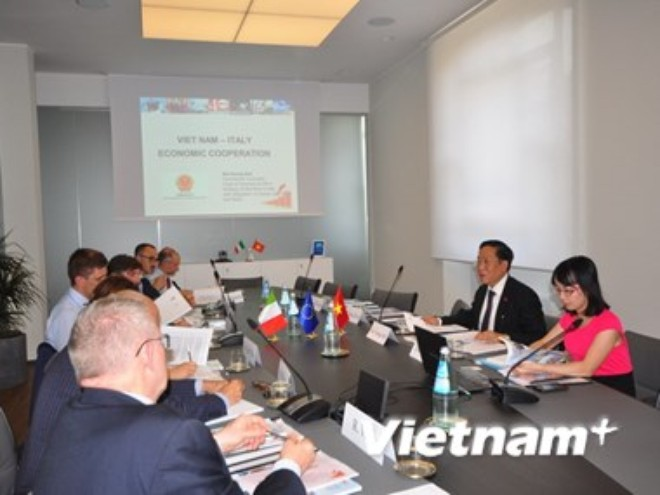 Viet Nam Italy step up industrial co-operation