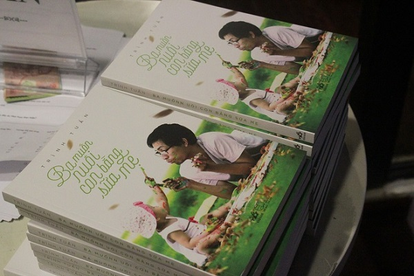 Breast-milk author to appear for Dads Day