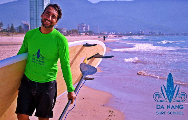 'New surfing sport set to make big waves on My Khe beach