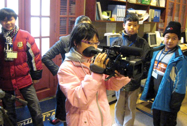 Young filmmakers see feel share in competition