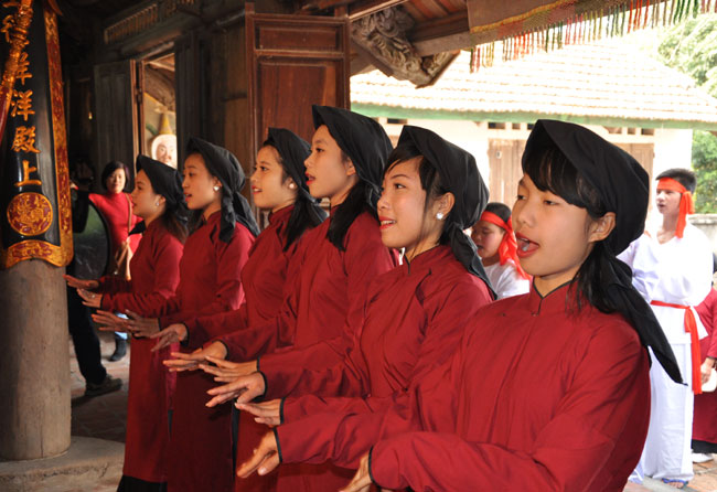 Phu Tho saves ancient singing from oblivion