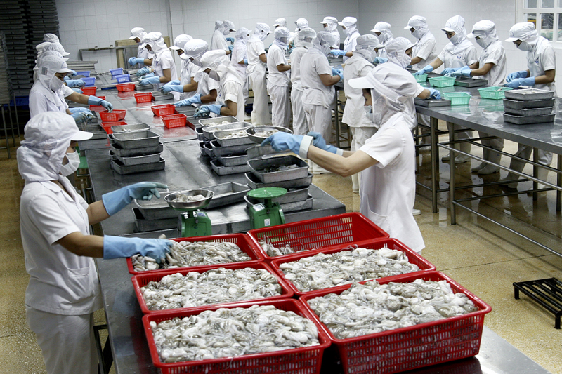 Decline in exports of Mekong Delta produce