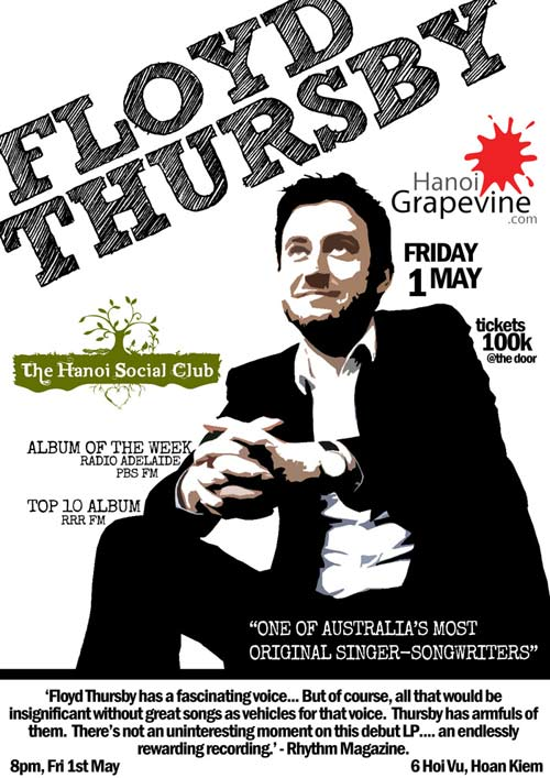 Australian Floyd Thursby to perform