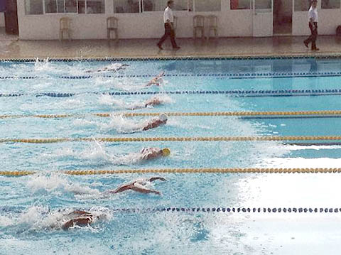 Records fall at national finswimming competition