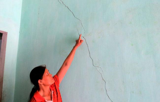 Quarry blasts crack Phu Yen homes