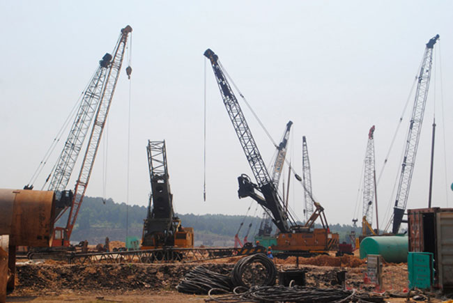 Nghe An probes slow projects
