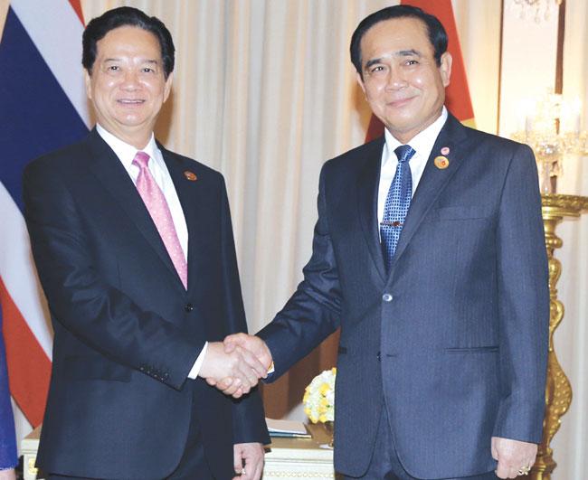 VN Thailands relationship thrives