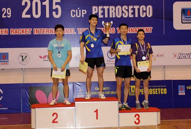 South Korea triumph at Golden Racket event