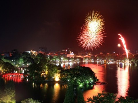 Parade fireworks to mark National Day