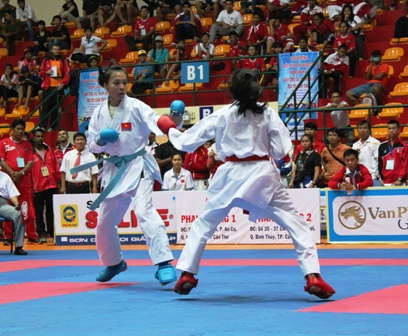 VN win three gold medals at karate-do event