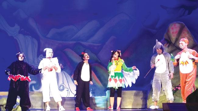 Drama troupe aims at kids