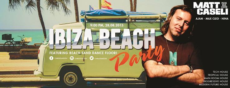 Cargo Bar to host Ibiza beach party
