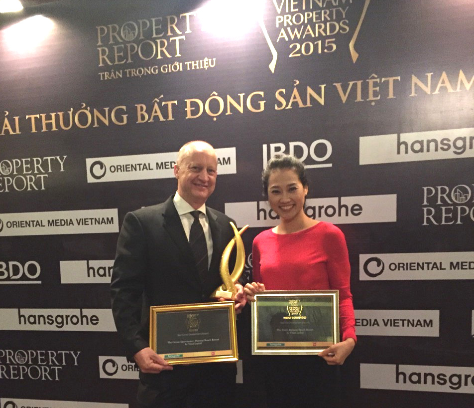 VinaLiving dazzles at Vietnam Property Awards with 2 prizes