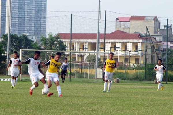 U16 Viet Nam lose to U19 Viettel
