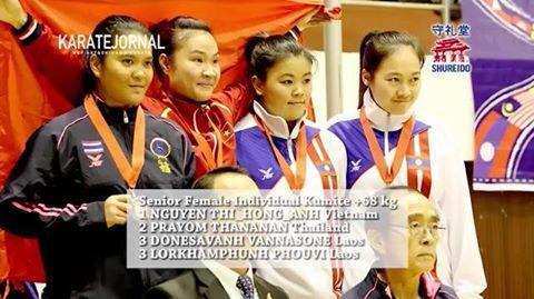 Viet Nam rank fourth in Karate-do