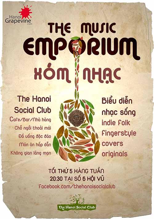 Hanoi Social Club debuts weekly music