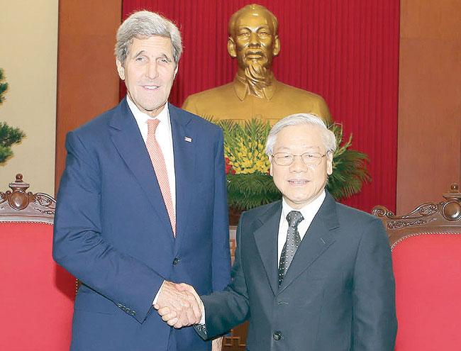 US Secretary of State talks on Agent Orange TPP
