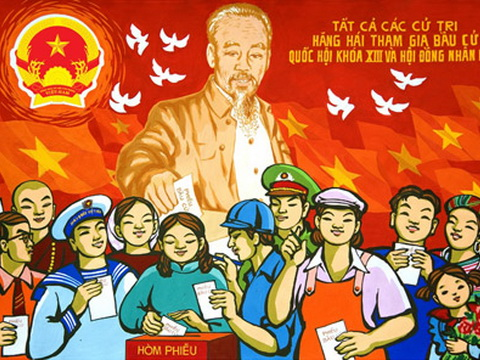 Poster contest held for first election anniversary