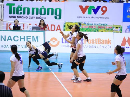 Zhetysu beat Lienvietpost Bank at womens volleyball championship