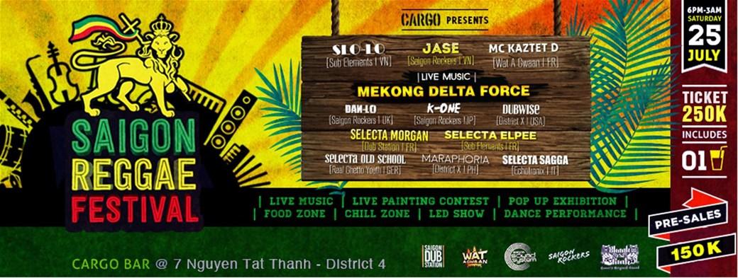 Saigon Reggae Festival opens next weekend