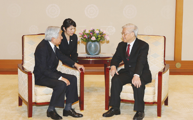 Japans Royal Family supports  co-operation with Viet Nam