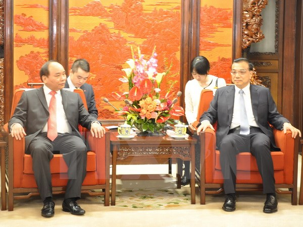 Deputy PM meets Chinese Premier