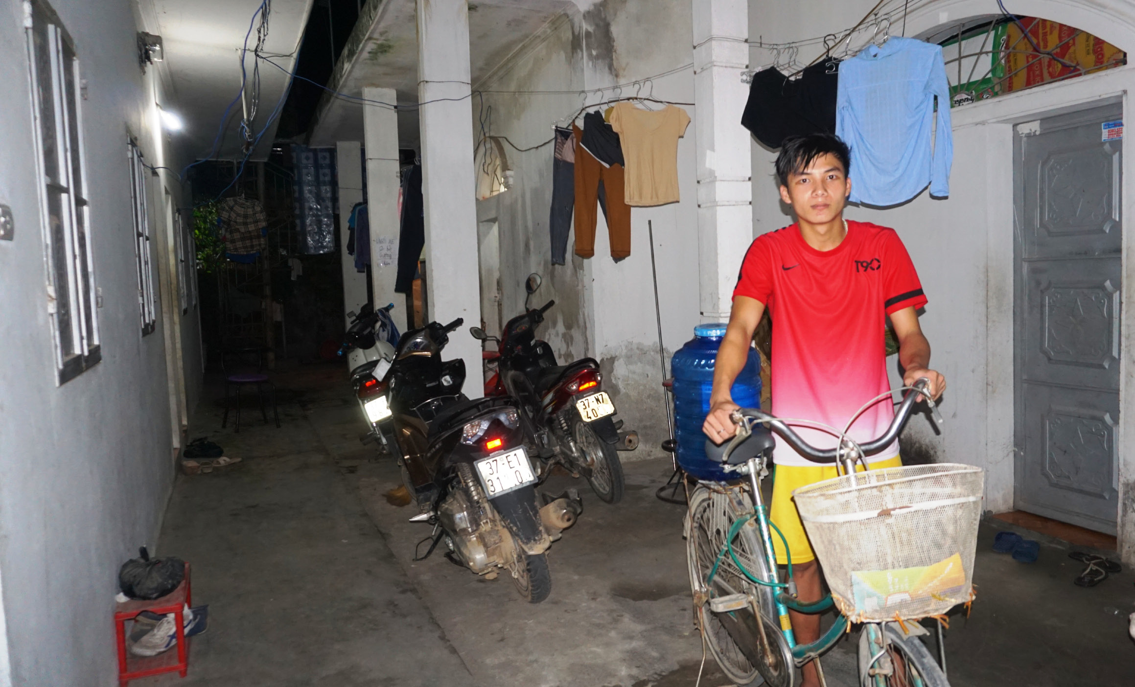 Nghe An workers lack clean water