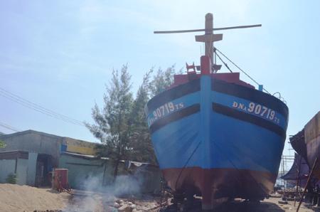Deep-sea fishing vessel launched