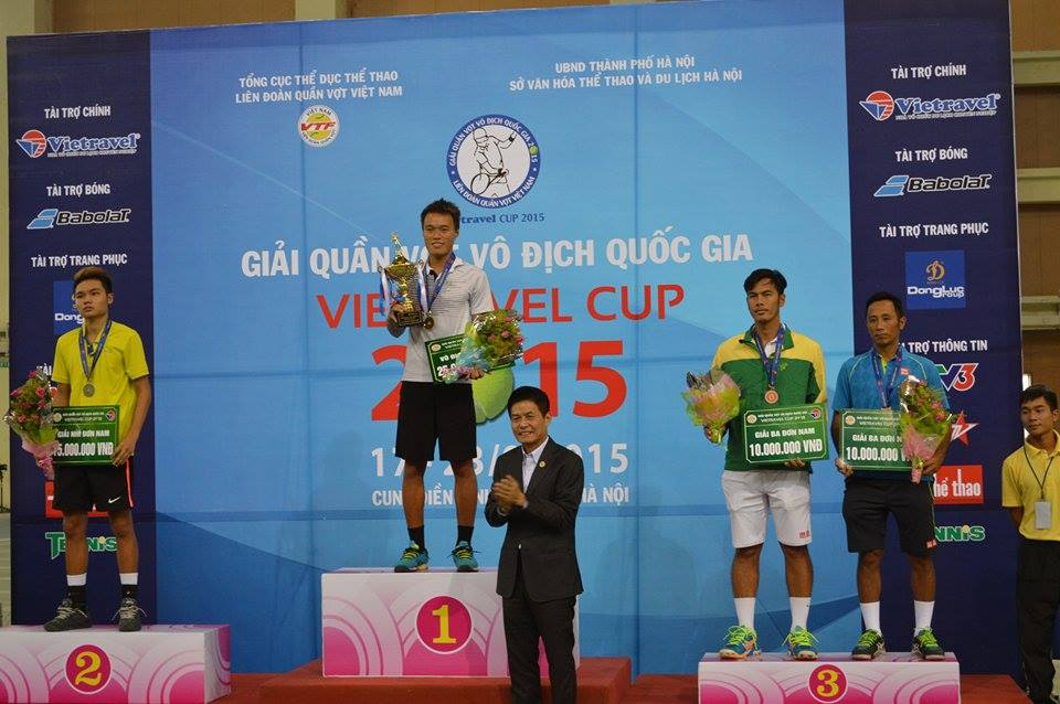 Tuan wins mens singles title at national tennis event