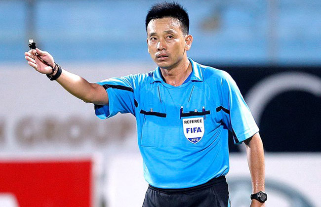 Tri named Viet Nams best referee of the season