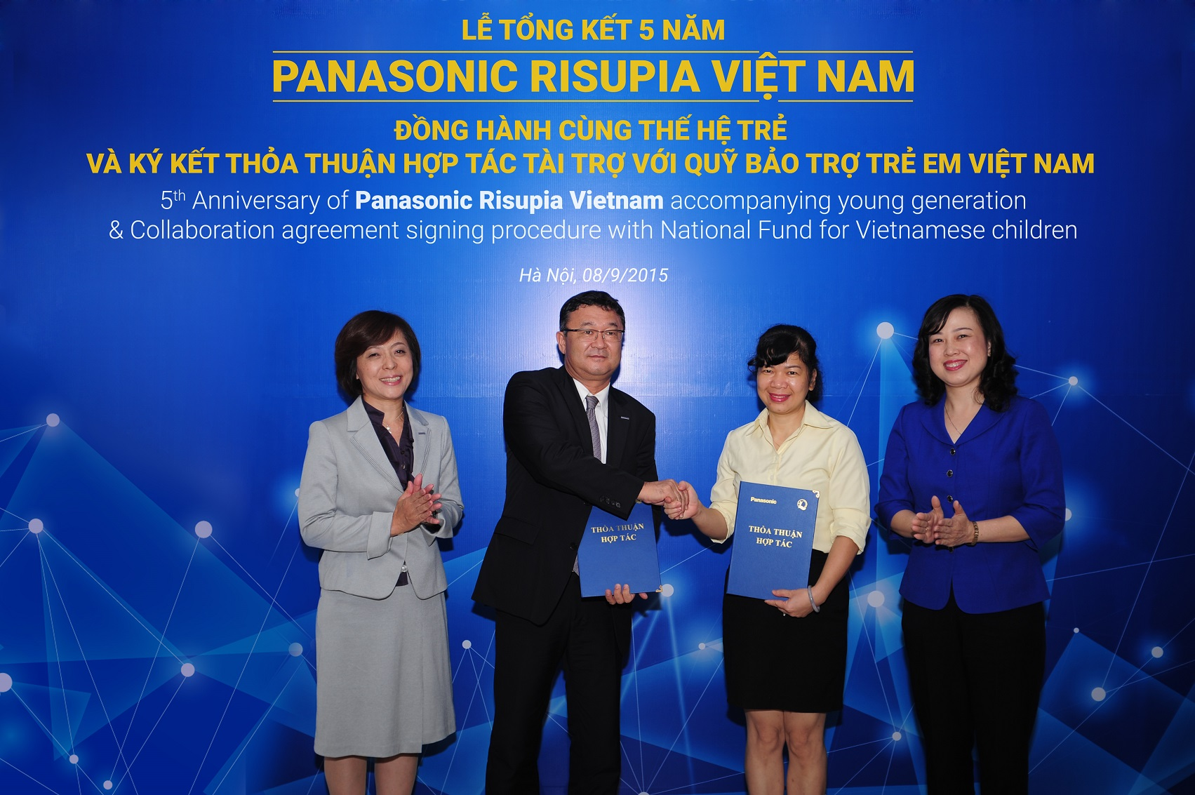 Panasonic Viet Nam to assist Vietnamese childrens charity
