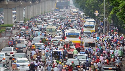 Ha Noi to limit personal vehicles