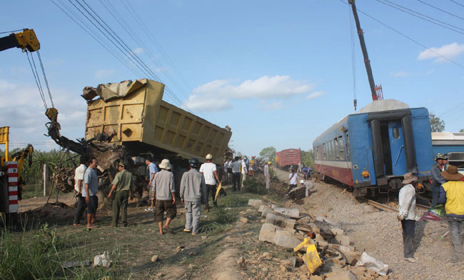 Most railway accidents caused by road users