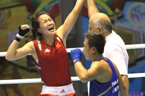 Boxers train abroad to secure Olympic berths