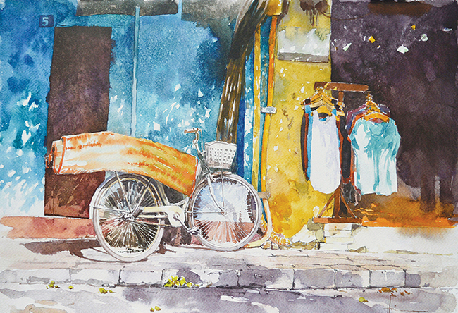 Ho Hungs watercolour exhibition opens in HCM City